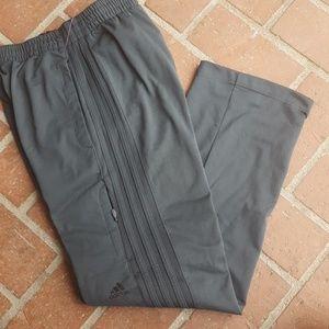 Adidas gray charcoal sweatpants joggers trackpants